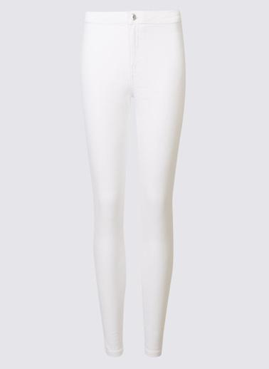 Marks & Spencer Jean Pantolon Beyaz